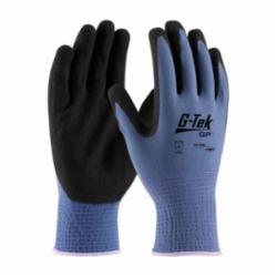 PIPR 34-500/S MAXIFLEX ELITE BLUE MICRO-FOAM NITRILE COATED PALM & FINGER TIPS BLUE SEAMLESS KNIT NYLON LINER