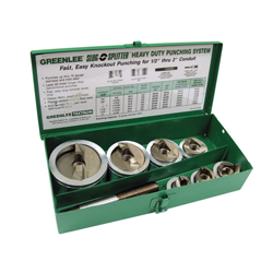 GRN 7307 S/S PUNCH SET 1/2-2IN