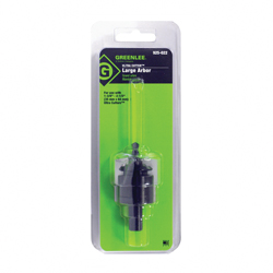 Greenlee® 925-022 Large Arbor, 3/8 in Shank, 1/4 in Dia x 1-1/2 in L Pilot Drill, Steel