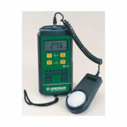 Greenlee® 93-172 Digital Light Meter, 0.01 to 5000 FC/0.1 to 50000 lux, LCD Display