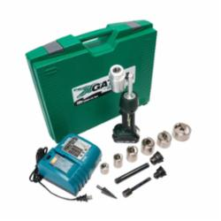 Greenlee® SPEED PUNCH™ LS50L11SBSP Punch Kit, 10 ga, Li-Ion Battery, Carbon Steel Housing