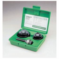 Greenlee® Slug-Buster® 7237BB Manual Round Knockout Punch-Die Kit, 10 ga, 1-1/2 to 2 in Conduit/Pipe, Mild Steel