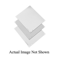 Hoffman A10P8 Enclosure Panel, 6.88 in W x 8-3/4 in H, Steel, White