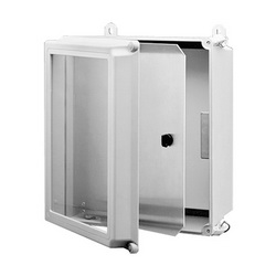 Hoffman A16SPK14C Swing Out Panel Kit, For Use With 16 x 14 in Enclosure, Aluminum