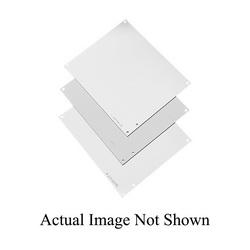 Hoffman A20N20MP Enclosure Panel, 18-1/2 in W x 17 in H, Steel, White
