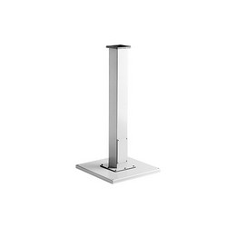 Hoffman A24SBASE P1 Pedestal Base, 24 in L x 24 in W, For Use With HMI Consolet, Steel, Gray