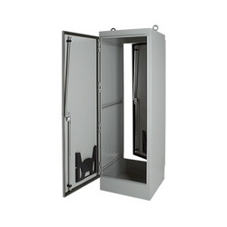 Hoffman A723618FS Single-Access One-Door Free Stand Enclosure, 72.06 in L x 36.06 in W x 18.06 in D, NEMA 12/IP55 NEMA