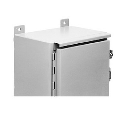 Hoffman ADK24A Drip Shield Kit, For Use With 24 in NEMA 12 Single Door Wall Mount and Floor Mount Enclosure, Steel