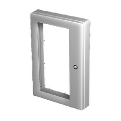 Hoffman AWDH2016N4 A80W Deep Hinged Window Kit, 14.68 in H x 7.41 in W Window, 18.19 in H x 12.14 in W x 2.73 in D, ANSI 61 Gray