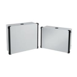Hoffman CP556012 HMI Enclosure With Black Extrusions, 550 mm L x 600 mm W x 120 mm D, NEMA 4/IP66 NEMA, Steel