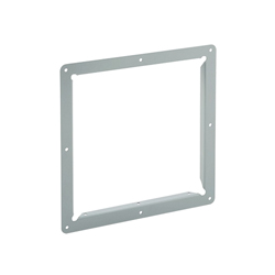 Hoffman F44GPA Wireway Panel Adapter, 4 in, For Use With NEMA 1 Painted Wireway Fittings, Steel, Painted