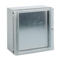 Hoffman LWHD2525 C3 Deep Hinged Window Kit, 8.78 in H x 7.97 in W Window, 9.84 in H x 9.84 in W x 1.63 in D, Black