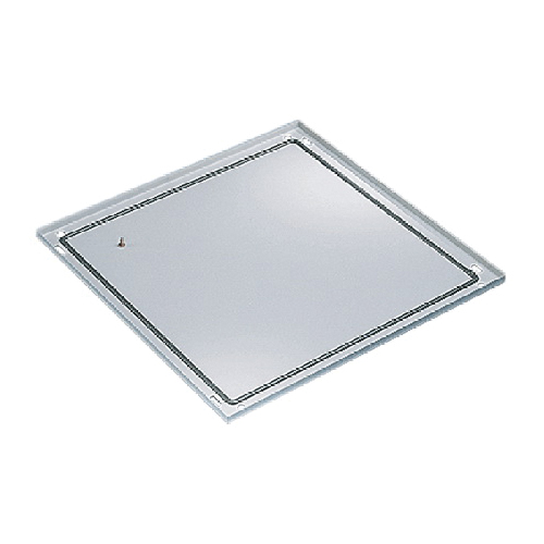 Hoffman PB068 Bottom Solid Base, 753 mm H x 592 mm W, For Use With ...