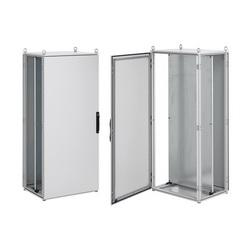 Hoffman PP2088 Single Door Industrial Enclosure Package, 2000 mm L x 800 mm W x 800 mm D, NEMA 12/IP55 NEMA, Steel