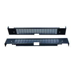 Hoffman PPBCV1800 Single Bay Vented Plinth Base Cover, 100 mm H x 799 mm W, For Use With 800 mm Frame, Steel