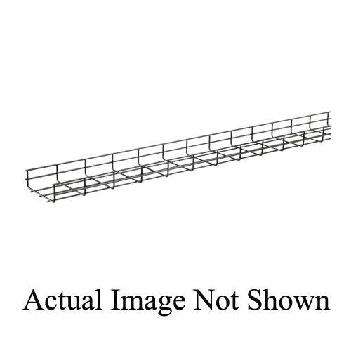 Hoffman QTP4X6 Straight Section Wire Mesh Cable Tray, 49 ft-lb, 120 ...