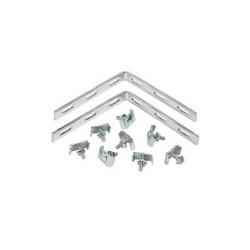 HOFF QTP90TKITBLK Corner Splice bar (Black) 1.00x5.00x5.00
