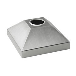 Hoffman SBCSS SYSPEND™ VM9 Base Bracket Cover, 220 mm L x 220 mm W x 100 mm H, For Use With SYSPEND™HMI Sanitary System