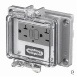 HUBW PR20 UL Type 4/12 Port with- 20A 125V GFCI with In-Cabinet Receptacle