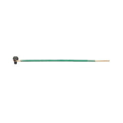 Ideal Industries 30-3392 Grounding Tail, Solid Wire, 12 AWG Wire, 8 in L, Ground Screw Terminal