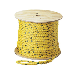 Ideal Industries Pro-Pull™ 31-840 Pull Rope, 1/4 in Dia x 600 ft, Polypropylene, Yellow