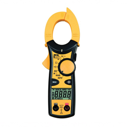Ideal Industries 61-746 Clamp Meter, 600/400 VAC/VDC, 600/400 A, 400 kOhm, 50Hz - 500Hz, 1-1/4 in Jaw