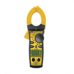 Ideal Industries TightSight 61-763 Clamp Meter, 750 VAC/999.9VDC, 660A, 9999 Ohm, 20 - 400 Hz, 1.42 in Jaw