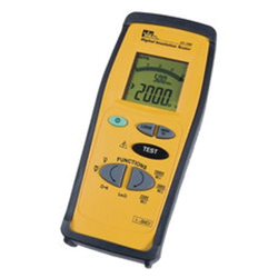 Ideal Industries 61-795 Handheld Insulation Tester, 0.1 to 600 VAC/VDC, 0 - 200 Ohm, 9999 Count/4 LCD Display