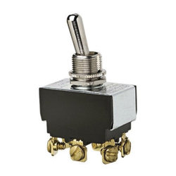 Ideal Industries 774000 Heavy Duty Toggle Switch, 125/227 VAC, 20/10 A, 1-1/2 hp, DPDT