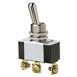 Ideal Industries 774009 Standard Toggle Switch, 125/227 VAC, 20/10 A, 3/4 hp, SPDT