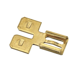 Ideal Industries 83-9801 Non-Insulated Disconnect Adapter, 0.551 in L, Brass