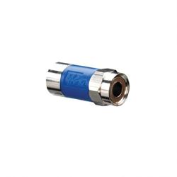 IDEAL 89-040 RG6 F INJECT CMPR CON BLU 10PK