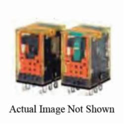IDEC RU2S-D24 2PDT w/light+lever DC24V coil relay