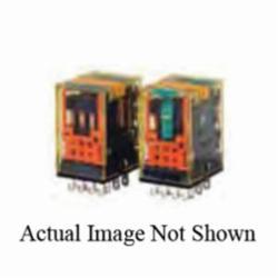IDEC RU4S-D24 w/lighy + lever DC24V coil relay