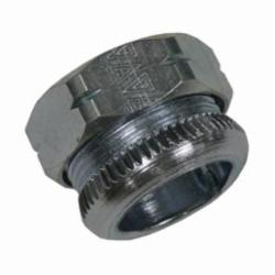Appleton® 92T075 2-Piece Compression Connector, 3/4 in Trade, For Use With EMT Conduit, Steel