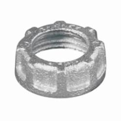 Appleton® BU-100 Threaded Conduit Bushing, 1 in Trade, Malleable Iron, Zinc Electroplated
