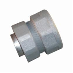 Appleton® ST-125F Female Liquidtight Conduit Connector With Threaded Hub, 1-1/4 in Trade, Malleable Iron