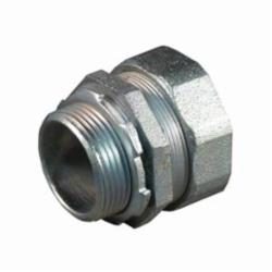 Appleton® ST-125 Liquidtight Conduit Connector With Plain Throat, 1-1/4 in Trade, Straight, Malleable Iron