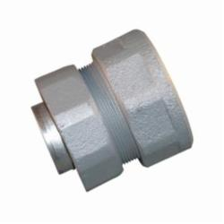 Appleton® ST-300F Female Liquidtight Conduit Connector With Threaded Hub, 3 in Trade, Straight, Malleable Iron