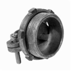Appozgcomm NEER C-1500 Two Screw Service Entrance Cable Connector With Locknut and Clamp, 1-1/2 in Knockout