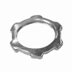 Appleton® L-600 NEER™ Standard Conduit Locknut, 2 in, For Use With IMC/Rigid Conduit Fittings, Steel, Zinc Plated