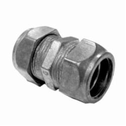 Appleton® TC-612 NEER™ TC-600 Compression Coupling, 3/4 in, For Use With EMT Conduit, Die Cast Zinc
