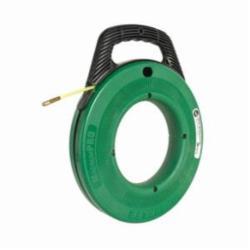 Greenlee® MagnumPRO FTN536-100 Non-Conductive Fish Tape, 3/16 in W 100 ft L Round Nylon Blade