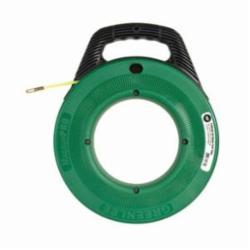 Greenlee® MagnumPRO FTN536-50 Non-Conductive Fish Tape, 3/16 in W 50 ft L Round Nylon Blade