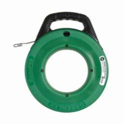 Greenlee® MagnumPRO FTS438W-100 Fish Tape, 1/4 in W 100 ft L Round Steel Blade