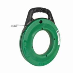Greenlee® MagnumPRO FTS438-240 Fish Tape, 1/8 in W 240 ft L Flat Steel Blade
