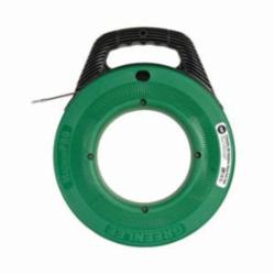 Greenlee® MagnumPRO FTSS438-100 Fish Tape, 1/8 in W 100 ft L Round Stainless Steel Blade