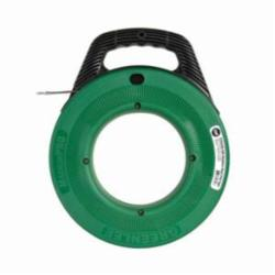 Greenlee® MagnumPRO FTSS438-200 Fish Tape, 1/8 in W 200 ft L Round Stainless Steel Blade