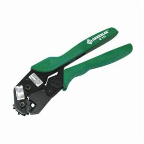 Greenlee® K111 Full Cycle Mechanism Crimping Tool, 8 - 1 AWG Cable ...