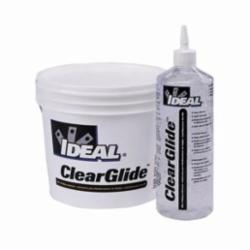 Ideal Industries ClearGlide™ 31-381 Wire Pulling Lubricant, 1 gal Pail, Gel, Clear, 1.09